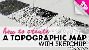 What Is A Topographic Map How To Create A Topographic Map With Sketchup Youtube