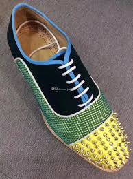 most popular luxury brand best quality red bottom shoes men