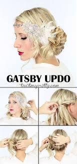 roaring 20 s long hairstyles 2 gorgeous gatsby hairstyles for halloween or a wedding gatsby