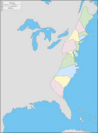 Maps De Usa by Usa The 13 Colonies Free Map Free Blank Map Free Outline Map