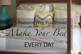toilet tuesday 5 reasons why you should make your bed every day