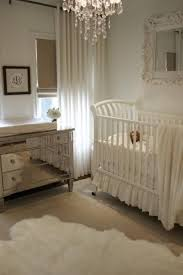 White Crib And Changing Table Mirrored Changing Table Nursery Pratt And Lambert