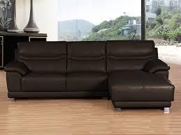 canapé d angle en cuir marron canapé d angle cuir de vachette perla 4 places 53968