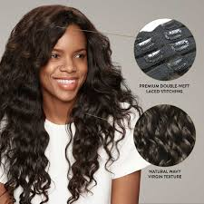 Hello Gorgeous Hair Extensions Review by 7 Piece Clip In Hair Extension Set Perfect Locks