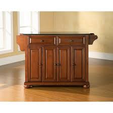 cherry kitchen island alexandria black granite top kitchen island wood cherry