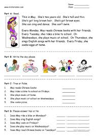 worksheet fifth grade reading comprehension worksheets luizah