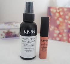 kirstiemaccc nyx first impressions nyx dewy finish make up
