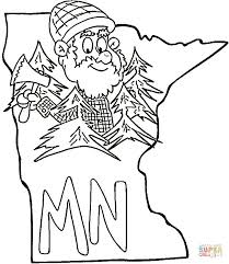 minnesota coloring free printable coloring pages