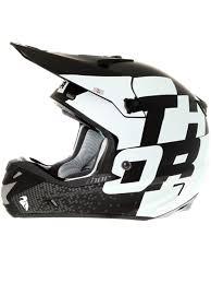 thor motocross helmets thor matt black white 2016 verge tach mx helmet thor