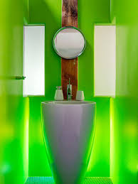 neon green wall houzz