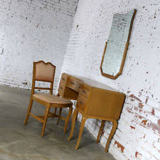Wisconsin Furniture Company Twin Pedestal Table Northern Furniture Company Ebay
