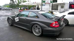 mercedes clk dtm amg mercedes clk amg dtm w decatted exhaust loud