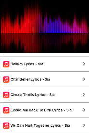 Sia Chandelier Text Sia Helium Lyrics Android Apps On Google Play