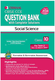 cbse cce social science question bank with complete solutions