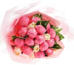 chocolate flowers pink chocolate flower bouquet chocolate flowers say it baby
