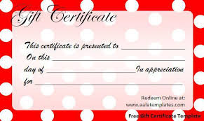 doc 750320 gift certificates templates free printable u2013 click