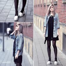 how to style black dress casual fashion inspiration