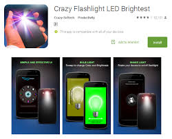 Brightest Flash Light Top 15 Best Free Flashlight Apps Brightest Torch App Andy Tips