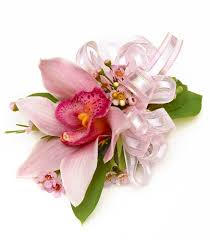 pink cymbidium orchid wrist corsage carithers flowers voted