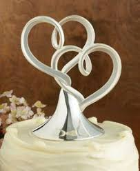 heart wedding cake toppers silver wedding cake toppers wedding corners