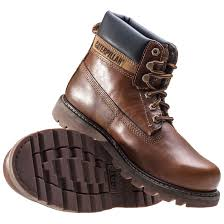 casual motorcycle boots caterpillar colorado mens gold leather casual boots lace up