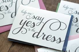 ask bridesmaids cards yes to the dress card be my bridesmaid marrygrams