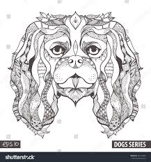 lps coloring pages cocker spaniel youtuf com