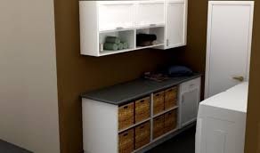 Laundry Room Storage Units by Laundry Room Storage Idea For Modern Home With Twin Washer Machine
