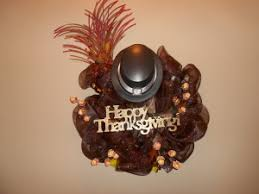 thanksgiving turkey deco mesh wreath the festivity closet