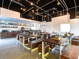 Fast Casual Restaurant Interior Design This Film Producer U0027s Latest Project Is A Fast Casual Asian Spot In