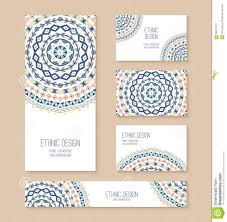 Invitation Cards Templates Set Of Business Card Banner Invitation Card Templates Stock