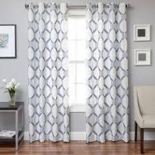 Moorish Tile Curtains Moorish Tile Gray Grommet Curtain Moorish Window And Patterns
