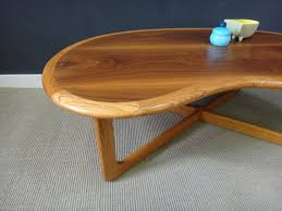kidney shaped table for sale mid century lane kidney shaped coffee table by retrocraftdesign