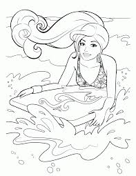 free coloring pages barbie coloring home
