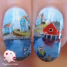 piggieluv peggy u0027s cove nail art inspired by raymond edmonds