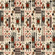45 u0027 u0027 home decor print fabric southwest native patchwork black
