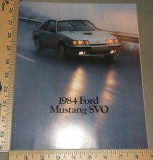 1984 mustang svo value ford mustang svo ebay