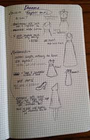 wedding planning journal planning a wedding in the bullet journal part two attire