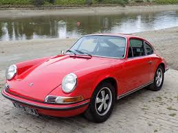 porsche red classic chrome porsche 911s 2 2 1971 l red
