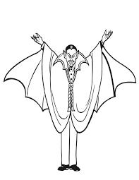 coloriage vampire à imprimer gratuitement