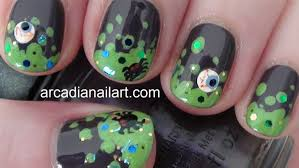 nail art designs witch u0027s brew easy nail art on short nails