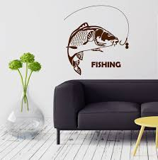 online get cheap fishing mural aliexpress com alibaba group new home house wall stickers fish fishing rod hobbies men vinyl mural stickers free shipping