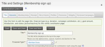 online membership sign up civicrm user guide civicrm documentation