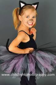 Girls Black Cat Halloween Costume Swat Halloween Costume Vilanya Sleeveless Black 5 Pieces