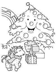 Coloriage Mon petit poney en Noel dessin gratuit à imprimer
