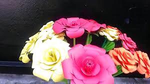 cara membuat origami bunga yang indah cara mudah membuat bunga mawar indah merekah dari kertas youtube