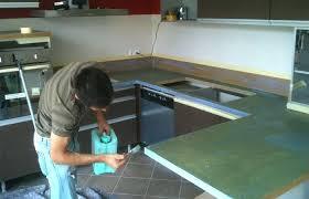 repeindre un plan de travail cuisine carrelage plan de travail pour cuisine peindre un plan de travail de