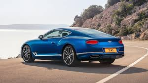 bentley coupe blue 2018 bentley continental gt dazzles crowd with new design at frankfurt