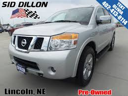 nissan armada 2017 crossbars pre owned 2014 nissan armada platinum suv in lincoln 4n17278a
