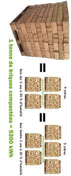 buche de cheminee brique forestière de bois compresse planete terre livraison somme 80